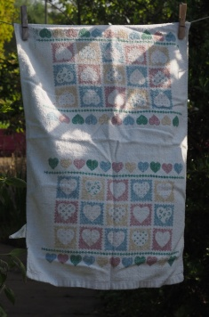 Hearts: Date Unknown. To read the story www.myteatowels.wordpress.com/2018/03/25/too
