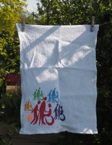 Mosaic: 2015. Read ChariTea Towel in the Museum