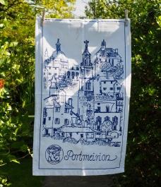 Portmeirion Village: 2019. To read the story www.myteatowels.wordpress.com/2019/05/21/port