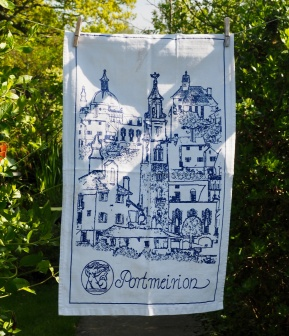 Portmeirion Village: 2019. To read the story www.myteatowels.wordpress.com/2019/05/21/port