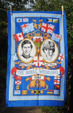 The Royal Wedding: 1981. To read the story www.myteatowels.wordpress.com/2016/07/30/the