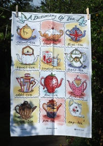 Dictionary of Tea Happy 4th Birthday): 2015. To read the story www.myteatowels.wordpress.com/2019/04/28/hap