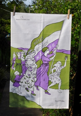 Suffragettes: 2011. To read the story www.myteatowels.wordpress.com/2015/08/24/suf