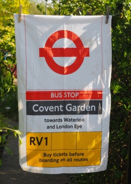 Covent Garden Bus Stop RV1: 2007. To read story www.myteatowels.wordpress.com/2015/06/10/covent-garden-bus-stop-rv1-2007/