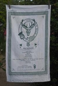 Clan Mackenzie: 2006. To read the story www.myteatowels.wordpress.com/2017/06/26/clan-mackenzie-2006-and-onwards/