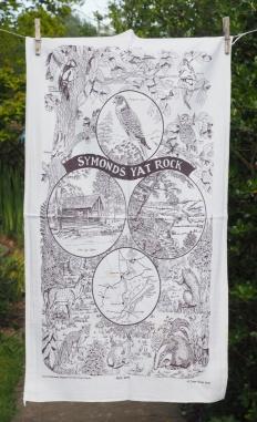 Symonds Yat Rock: 1997. To read the story www.myteatowels.wordpress.com/2018/10/01/sym