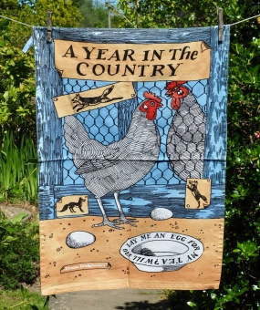 Chickens: 2010: To read the story www.myteatowels.wordpress.com/2017/02/04/chi