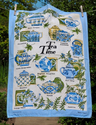 Tea Time: 2001. To read the story www.myteatowels.wordpress.com/2015/09/25/tea