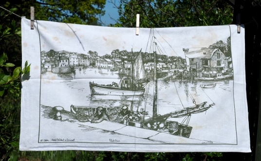 Padstow: 1982. To read the story www.myteatowels.wordpress.com/2015/10/01/pad