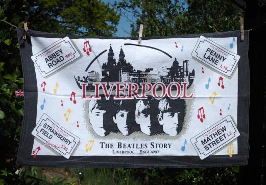 Beatles Shop, Liverpool: 2013. To read the story www.myteatowels.wordpress.com/2015/10/02/bea
