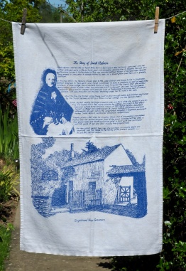 Grasmere Gingerbread Shop: 2001 and 2003. To read the story www.myteatowels.wordpress.com/2015/10/25/gra