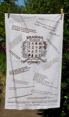 Bramah Museum: 2005. To read the story www.myteatowels.wordpress.com/2015/09/24/bra