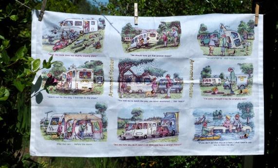 Caravans: 2015. To read the story www.myteatowels.wordpress.com/2015/11/28/car