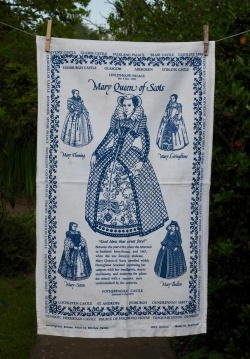 Mary Queen of Scots: 2001. To read the story www.myteatowels.wordpress.com/2016/06/26/mar