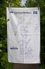 Caledonian MacBrayne: 1998. To read the story www.myteatowels.wordpress.com/2016/03/23/cal