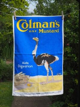 Colman's Mustard: 2002. To read the story www.myteatowels.wordpress.com/2016/09/16/colemans-mustard-norwich-2002/