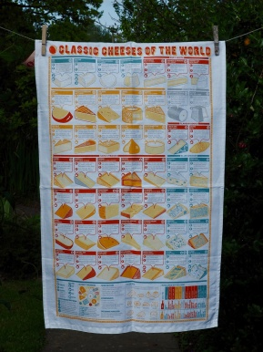 Classic Cheeses of the World: 2016. To read the story www.myteatowels.wordpress.com/2016/07/08/cla