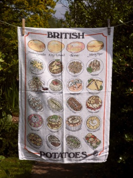 British Potatoes: 1987. To read the story www.myteatowels.wordpress.com/2016/04/05/bri