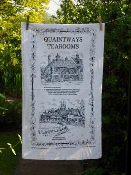 Quaintways Tea Room: 2002. To read the story www.myteatowels.wordpress.com/2015/10/25/qua
