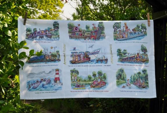 Fun with Boats: 2015. To read the story www.myteatowels.wordpress.com/2018/09/25/fun