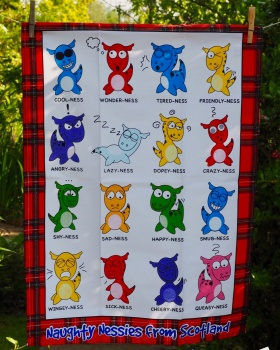 Nessie: 2015. To read the story www.myteatowels.wordpress.com/2017/05/12/nes