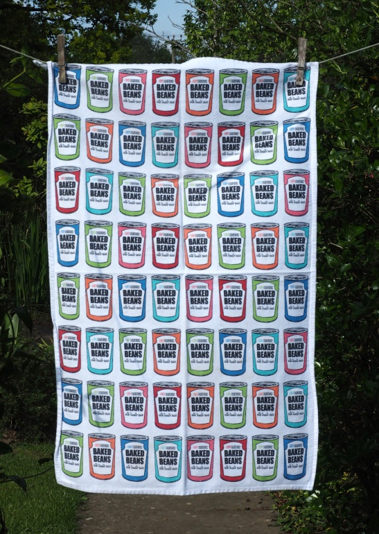 Baked Beans: 2014. To read the story www.myteatowels.wordpress.com/2016/06/29/bak