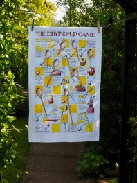 The Drying-up Game: 2015. To read the story www.myteatowels.wordpress.com/2016/01/11/the