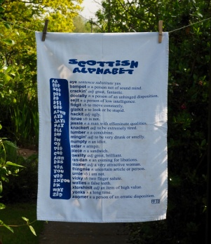 Scottish Language: 2006 and 2015. To read the story www.myteatowels.wordpress.com/2017/01/27/the-scottish-language-2006-and-2015/