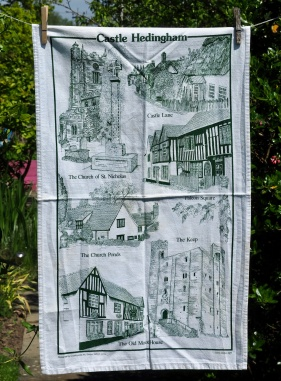 Castle Hedingham: 2003. To read the story www.myteatowels.wordpress.com/2019/05/30/cas