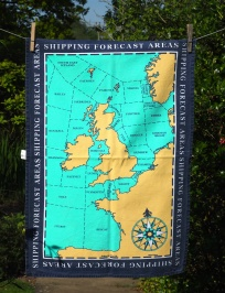 The Shipping Forecast Areas: 2010. To read the story www.myteatowels.wordpress.com/2016/08/20/the