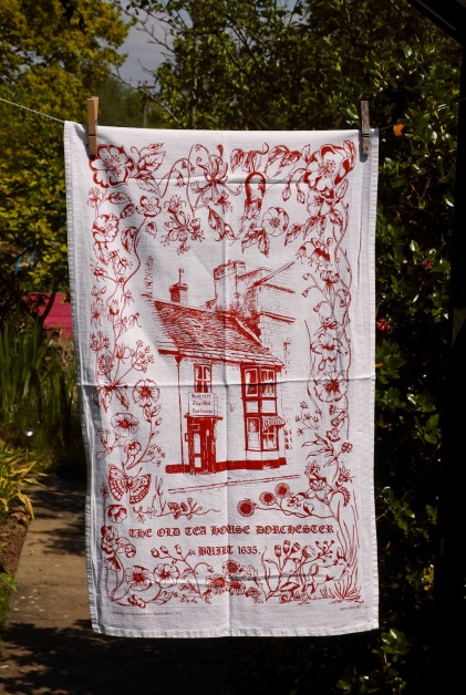 The Old Tea House Dorchester: 2000. To read the story www.myteatowels.wordpress.com/2017/01/17/the