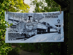 The Old Station at Tintern: 2012. To read the story www.myteatowels.wordpress.com/2019/10/17/old