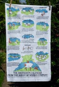 Shepherds Calendar: 1992. To read the story www.myteatowels.wordpress.com/2019/08/16/she