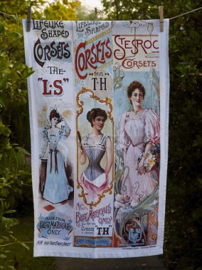 Corsets: 2013. To read the story www.myteatowels.wordpress.com/2016/02/23/cor