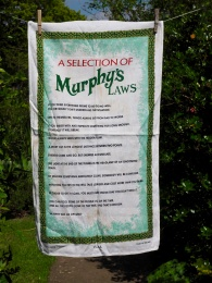 A Selection of Murphy's Law: 2002. To read the story www.myteatowels.wordpress.com/2016/04/27/a-selection-of-murphys-laws-2002/