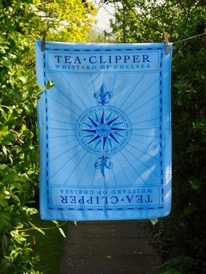 Clipper Tea Towel: 2003. To read the story www.myteatowels.wordpress.com/2016/01/24/cli
