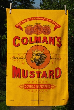 Colman's Mustard: 2002. To read the story www.myteatowels.wordpress.com/2016/09/16/colemans-mustard-norwich-2002/