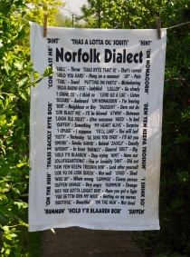 Norfolk Dialect: 2010. To read the story www.myteatowels.wordpress.com/2016/03/15/nor