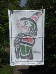 Museum of Anthropology, Vancouver: 1988. To read the story www.myteatowels.wordpress.com/2016/04/09/mus