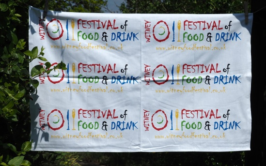 Witney Festival of Food and Drink: 2016. To read the story www.myteatowels.wordpress.com/2016/05/24/wit