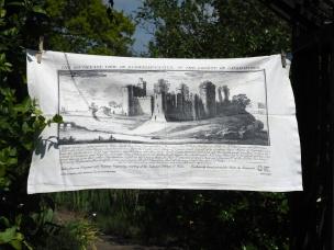 Kidwelly Castle: 2012. To read the story www.myteatowels.wordpress.com/2016/05/18/kyd