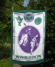 Wimbledon Lawn Tennis Museum: 2006. To read the story www.myteatowels.wordpress.com/2016/06/28/wim