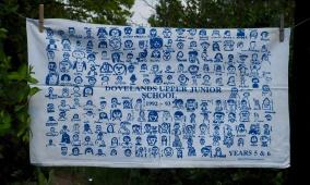 Dovelands Upper Junior School: 1992-1993. To read the story www.myteatowels.wordpress.com/2016/06/07/dov
