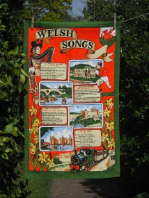 Welsh Songs: 2013. To read the story www.myteatowels.wordpress.com/2016/05/30/wel