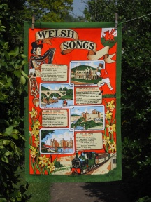 Welsh Songs: 2013. To read the story www.myteatowels.wordpress.com/2016/05/30/wel