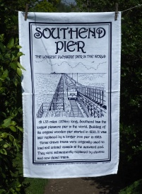 Southend Pier: 2016 To read the story www.myteatowels.wordpress.com/2016/06/24/sou