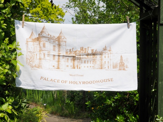 Palace of Holyroodhouse: 2002. To read the story www.myteatowels.wordpress.com/2019/06/07/pal