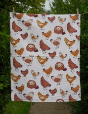 Chickens: 2010. To read the story www.myteatowels.wordpress.com/2017/04/27/breeds-of-chickens-2003/