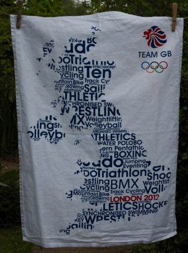 Olympic Sports: 2012. To read the story www.myteatowels.wordpress.com/2016/10/26/oly
