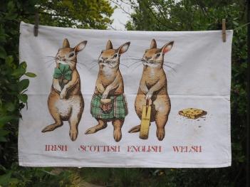 Welsh Rabbit: 2013. To read the story www.myteatowels.wordpress.com/2016/08/23/wel